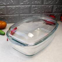 Велика прямокутна форма з кришкою для духовки Vittora 6,5 л