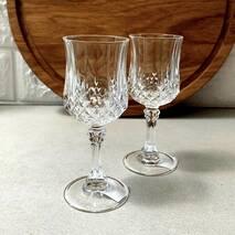 Набор рюмок на ножках 6 шт Eclat Longchamp 60 мл (L9754), хрустальное стекло