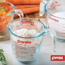 Мерная стеклянная кружка 1 л Pyrex, мерная ёмкость