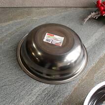 Миска металева 18 см з нержавіючої сталі
