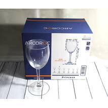 Набір келихів для червоного вина Arcoroc Princesa 310 мл (P3263)