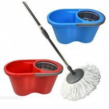 Набор для уборки Лентяйка (швабра+ведро с авто-отжимом) Zambak