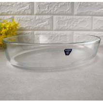 "Овальне скляне блюдо для подання з високими бортами  Luminarc ""Sabot"" 3,8 л (P5607)"