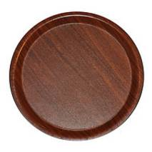 Поднос нескользящий круглый ламинированный HLS 43 см (7966Т)