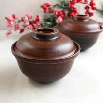 Горшок для жаркого «Дубок» 600 мл из красной глины, украинская керамика