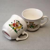 Дитяча керамічна чашка HLS Ведмедика 210 мл