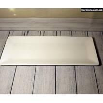 Блюдо прямоугольное плоское 12″ HLS Extra white 300х115 мм. (W0175)