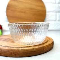 Скляний порційний салатник ОСЗ Ідилія 12 см