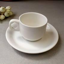 Набор кавовий HLS Extra white (чашка з блюдцем) 150 мл (W0284)