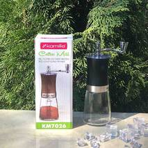 Кофемолка ручная Kamille 6.5х18.5 см механическая