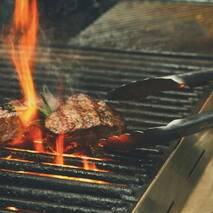 Щипці для грилю і барбекю 30.5 см з нержавіючої сталі