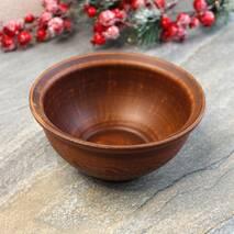 Пиала из красной глины 0,6 л, украинская керамика (53)
