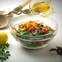 Салатник прозорий глибокий для приготування салатів Luminarc Stackable 2,9 л (N3695)