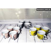 "Набор кавовий HLS ""Кофе"" 12 чашок 80 мл (3441)"