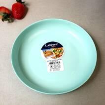 Лазурная суповая тарелка с высокими бортиками Luminarc Friend Time Turquoise 21 см (P6360)