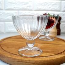 "Набор стеклянных креманок для десертов на ножке Luminarc Pearl ""Quadro"" 300 мл 6 шт (N2322)"