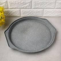 Форма для запікання піци Kamille 35*33.5*2.5см з вуглецевої сталі