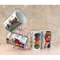 Чайный сервиз 5 предметов HLS Макаруны 350 мл (2820)