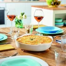 Білі квадратні деко Luminarc Smart Cuisine Carine 26x26 см (P4026)
