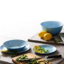 Нежно-голубой столовый сервиз Diwali Light Blue 19 предметов  (P2961)