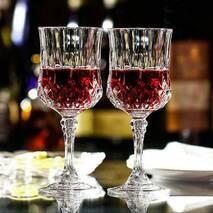 Набір келихів для вина з кришталевого скла Eclat Longchamp 170 мл 6 шт (L7552 )