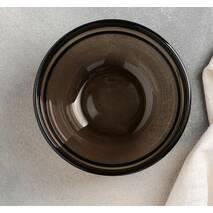 "Салатник коричневий з бортом Luminarc ""Зручне зберігання"" 120 мм (Н9991)"