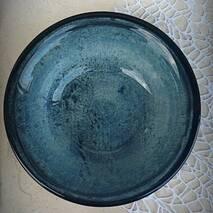 """Бірюзовий фарфоровий турецький салатник Kutahya Porselen """"Corendon"""" 160 мм (NB3116)"""