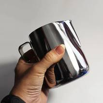 Питчер для молока з нержавіючої сталі без кришки 1 л (7663)