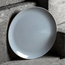 Серая подставная тарелка Luminarc Diwali Granit 270 мм (P0705)