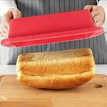 Прямокутна силіконова форма для хліба і кексу