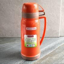 Термос Kamille 600 мл пластиковий із скляною колбою