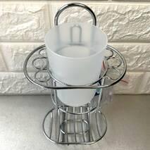 Подвесной стакан для зубных щёток с мыльницей