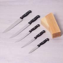 Набір ножів 6 предметів з нержавіючої сталі з бакелітовими ручками Kamille