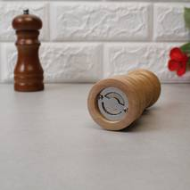 Млин для перцю дерев'яний світле дерево HLS (7360)