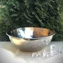 Миска 4л з нержавіючої сталі 30 см Kamille