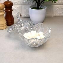 Скляна цукорниця з кришкою в подарунковій упаковці Альтаїр