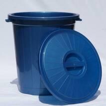 Сміттєвий бак з кришкою 70 л для харчових відходів