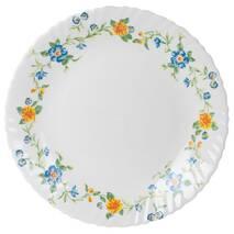 Столовый сервиз белый с цветочным декором Arcopal Cybele 38 предметов (L8027)