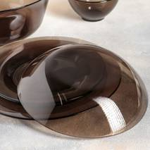 Сервиз столовый из дымчатого стекла Luminarc Амбьянте Эклипс 31 предметов (L5177)