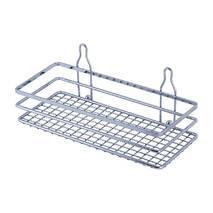 Прямокутна полиця для ванни на присосках Besser 25х11х9 см
