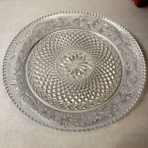Велике скляне блюдо Pasabahce Конья 354 мм (54372)