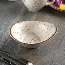 Соусник фарфоровий маленький Kutahya Porselen Corendon 111х82 мм (CR3111)