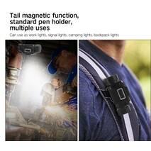 Мега мощный налобный фонарь Boruit B50 Магнит XM-L2 + 4  XP-G2
