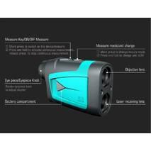Лазерний бінокль 6x 600 м Mileseey PF210 для полювання для гольфу