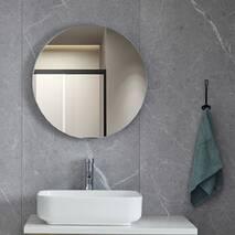 Дзеркало кругле White 60х60 см