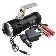 Прожектор переносной Police KD-004-T6+COB (white+red)