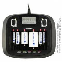 Универсальное зарядное устройство everActive NC-900U 8 каналов Ni-Mh 220V/12V USB Test LED+LCD