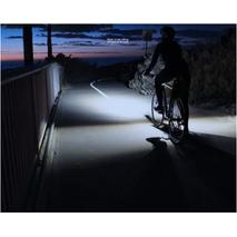 Велосипеный фонарь клаксон спидометр и пульт 800lm USB LCD вело фара