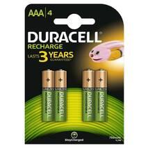 Аккумулятор Duracell Recharge DC2400, AAA/(HR03), 750 mAh, Ni-MH, блистер 4шт