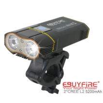Велосипедний ліхтар EBUYFIRE E - Y1 Акумулятор 5200mah USB Кріплення